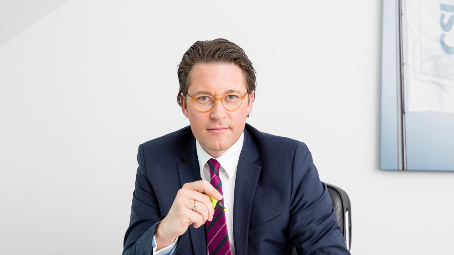 CSU-Generalsekretär Andreas Scheuer. Foto: BK