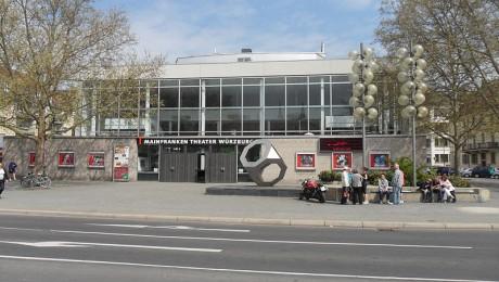 Eingangsportal des bisherigen Mainfranken-Theaters Würzburg. (Foto: wikimedia/Aarp65)