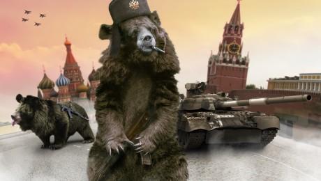 Der russische Bär will wieder Weltmacht sein. Bild: Fotolia/diter
