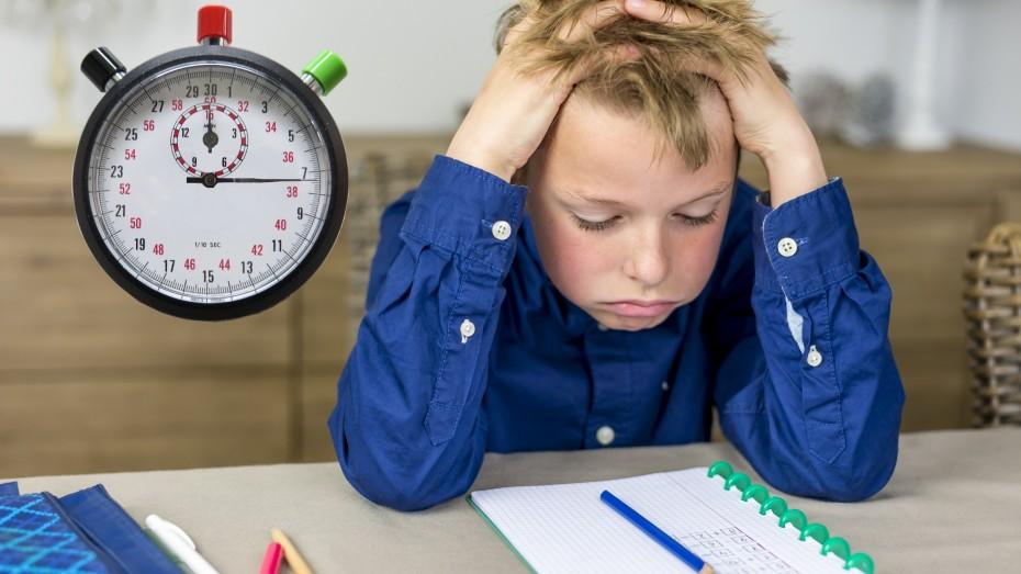 Dreiste Ablenkung der Hausaufgaben