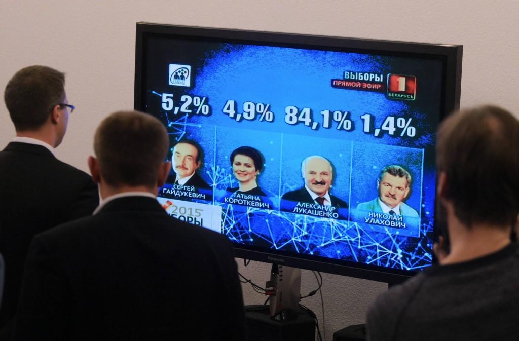 Weißrussland Diktatur
