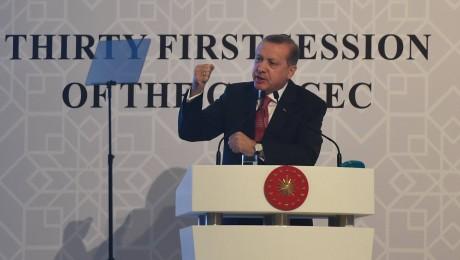 Der türkische Autokrat Recep Erdogan. (Bild: Imago/Xinhua)