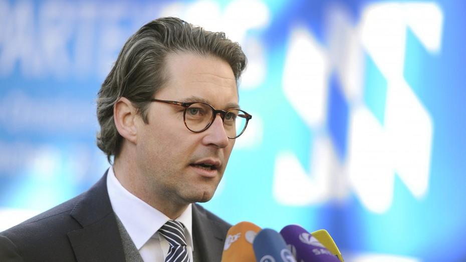 """""""Wir sind die Partei mit dem klaren Kurs."""" CSU-Generalsekretär Andreas Scheuer. Foto: imago/Sven Simon"""