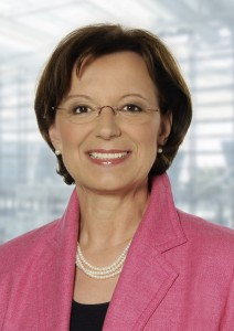 Bayerns Sozialministerin Emilia Müller. (Foto: stmas)