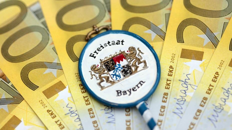 Bayerns Zahlungen in den Länderfinanzausgleich erreichen wieder Rekordwerte. Bild: Imago/Ralph Peters