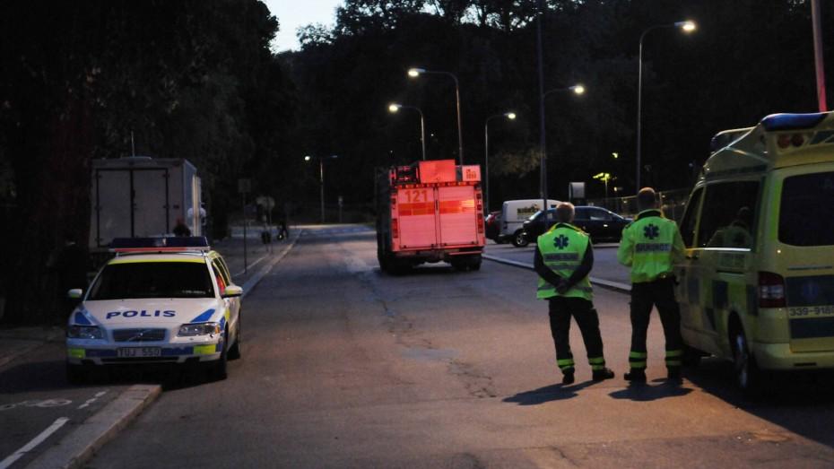 Polizisten in Schweden. (Bild: Imago)