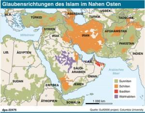 Muslime Islam Unterschied