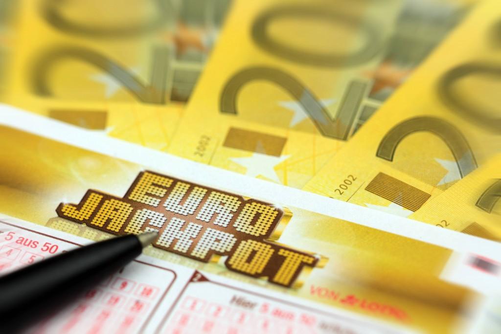 Lotterieschein