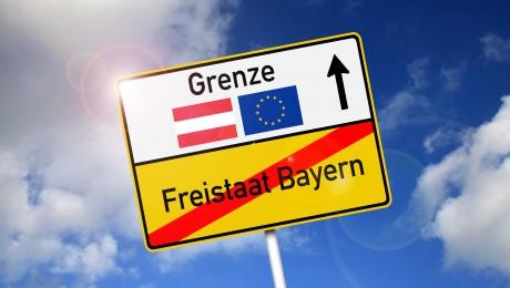 Die Politik der offenen Grenzen muss beendet werden, das fordern immer mehr Bayern. (Bild: Imago/Ralph Peters)