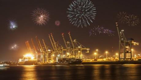Deutschland feiert ein Exportfeuerwerk