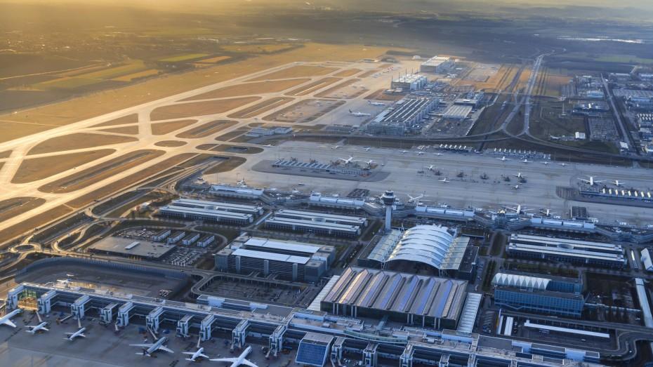 Europas största flygplatser - Franz Josef Strauß, Munchen