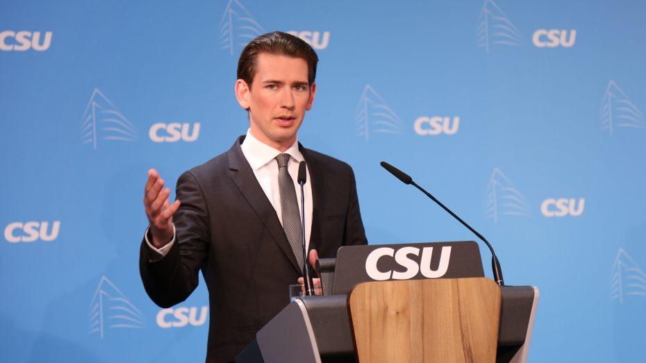 Der österreichische Außenminister Sebastian Kurz, ÖVP. (Bild: Anja Schuchardt)