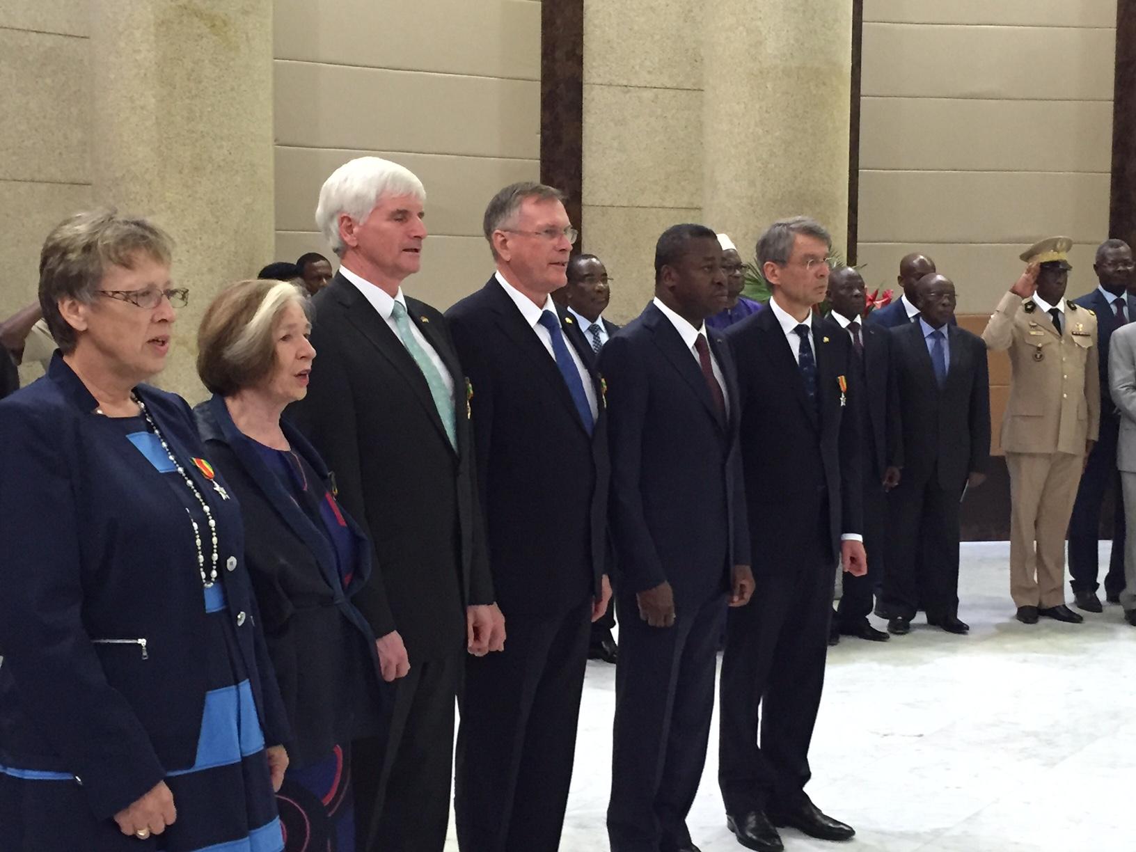 """Résultat de recherche d'images pour """"Togoischer Präsident Faure Gnassingbé"""""""