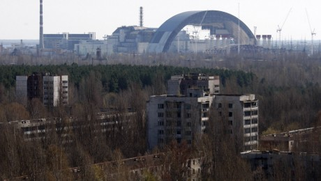 Was von Tschernobyl übrig blieb