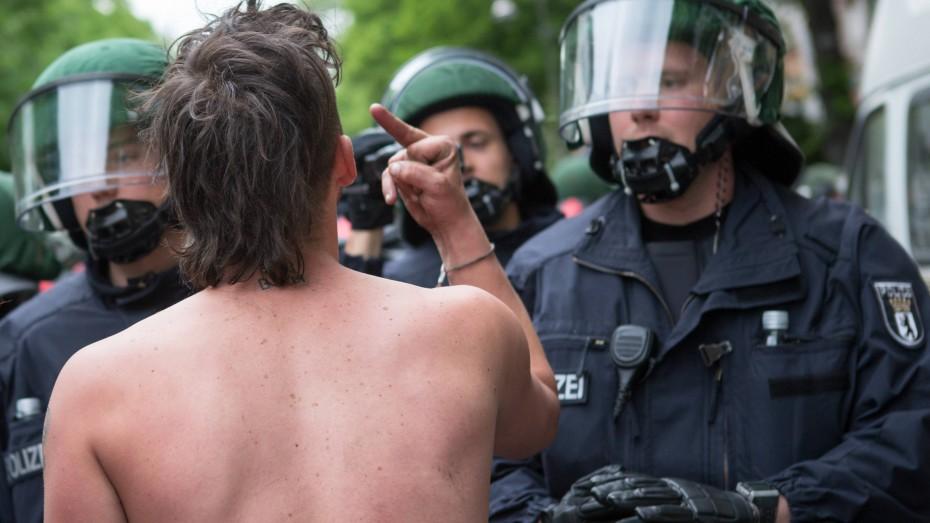 Gewalt Gegen Polizei