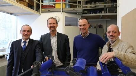 Die Gründer von Aquakin bezeichnen sich als Tüftler, Ingenieure, Investoren und ein Stück weit auch als Visionäre. (Bild: Anja Schuchardt)