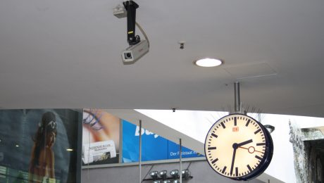 Bund investiert in Überwachungskameras