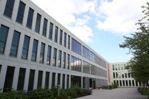 Die Geschäftsstelle des Zentrums Digitalisierung.Bayern in Garching. (Bild: Anja Schuchardt)
