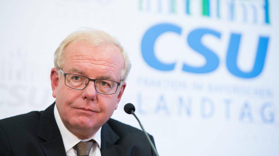 Der Chef der CSU-Landtagsfraktion verteidigte das bayerische Integrationsgesetz. (Bild: Imago/Eibner)