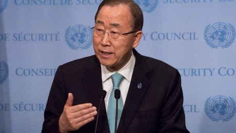Ban Ki Moons Amtszeit neigt sich dem Ende - die Suche nach einem Nachfolger läuft auf Hochtouren. (Bild: Imago/Pacific Press Agency)