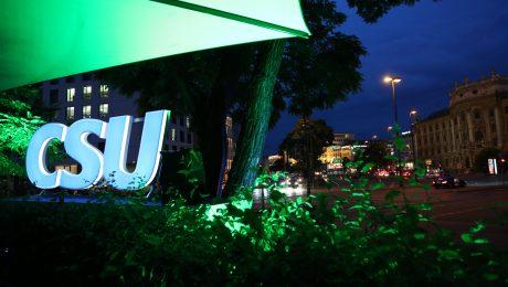 Münchner Mediennacht: Hier der Blick auf den Karlsplatz. (Bild: Anja Schuchardt)