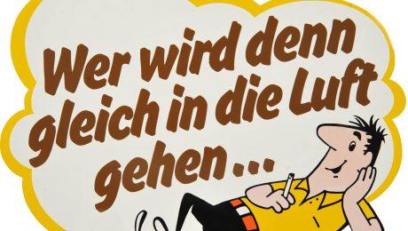 Das HB-Männchen von British American Tobacco sorgte in Deutschland lange Zeit für Belustigung. Den Mitarbeitern des Konzerns ist das Lachen nun vergangen. (Bild: Imago/teutopress)