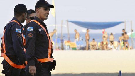 Hochsicherheitstrakt am Strand