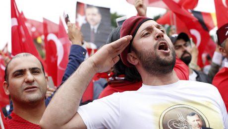 Erdogan vor der Haustür