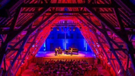 Das Janoska-Ensemble im vergangen Jahr im Florianstadl. (Bild: Ammerseerenade)