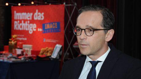 Immer das Richtige? Bundesjustizminister Heiko Maas beim Landesdelegiertentag der Saar SPD. (Bild: Imago/Becker & Bredel)