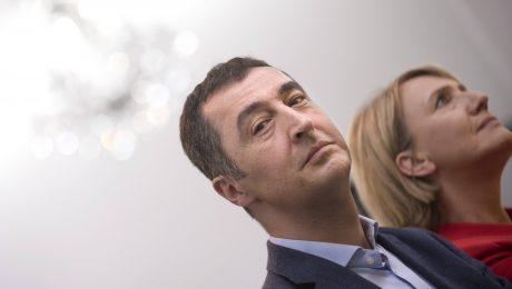 Skepsis beim Thema Steuerentlastungen: Die Grünen-Parteichefs Cem Özedmir und Simone Peter. (Bild: Imago/IPON)