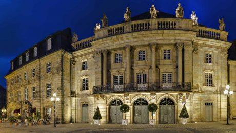 Das Markgräfliche Opernhaus in Bayreuth gehört zum UNESCO-Weltkulturerbe. (Foto: Imago/Westend61)
