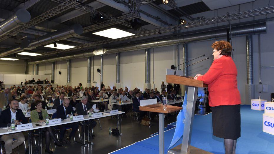 In Würzburg fand der erste von insgesamt sechs gemeinsamen Kongressen von CDU und CSU statt. (Bild: CSU)