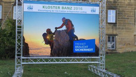 Die Sicherheitspolitik stand im Zentrum der Klausurtagung der CSU-Landtagsfraktion. (Foto: Bayernkurier)