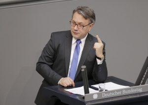 Der stellvertretende Vorsitzende der CDU/CSU-Bundestagsfraktion, Georg Nüßlein. (Bild: Imago/M. Popow)