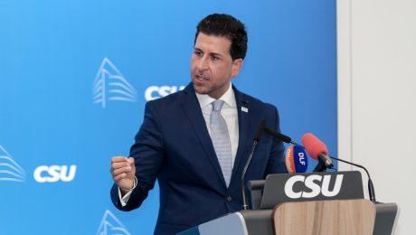 Der Vorsitzende des AK MIG, Ozan Iyibas. (Bild: CSU)