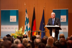 EU-Kommissar für Internationale Zusammenarbeit und Entwicklung Neven Mimica. (Bild: Christian Müller, Hanns-Seidel-Stiftung)