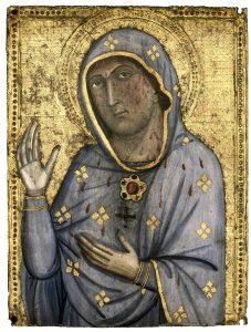 Madonna Ara Coeli Tempera auf Holzunterlage, Metropolitankapitel zu Sankt Veit, Domschatz. (Foto: Jiří Kopriva/fkn)