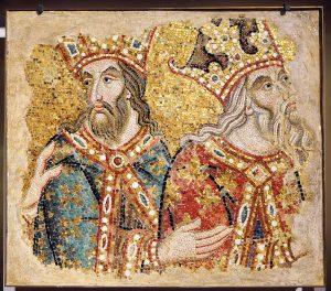 Mosaikfragment aus San Marco in Venedig, erste Hälfte des 14. Jahrhunderts. (Bild: Venedig, Museo di San Marco/fkn)