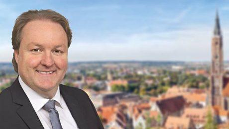 Helmut Radlmeier bewirbt sich um das OB-Amt in Landshut. (Bild: CSU)