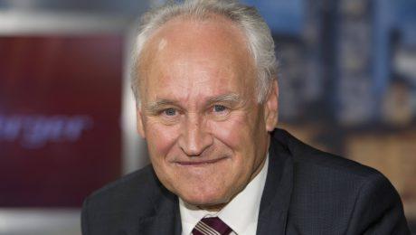 Sorgt sich um die Zukunft der CSU: Ex-Parteichef Erwin Huber (Foto: Imago/Sven Simon)