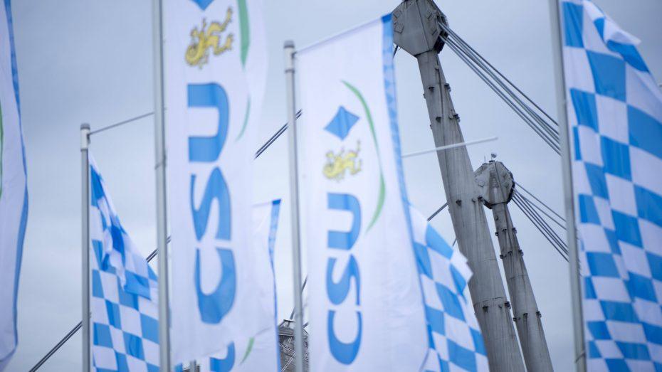 Hohe Zustimmungswerte für die CSU. (Bild: Imago/Plusphoto)