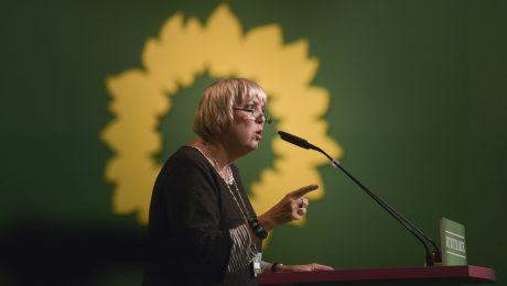 Der Weisheit allerletzter Schluss: Die Grüne Claudia Roth. (Bild: Imago/Felix Abraham)
