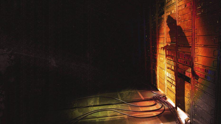 Verdächtiger Schatten im Osten: Hackerangriffe legten 900.000 Telekom-Router lahm. (Bild: Imago/Ikon Images-Ryan Etter)