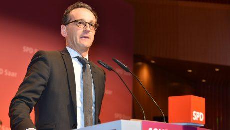 Nicht der Schnellste: Bundesjustizminister Heiko Maas, SPD. (Bild: Imago/Becker&Bredel)