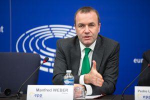 Manfred Weber, Fraktionschef der Europäischen Volkspartei im EU-Parlament. (Bild: Büro Weber)
