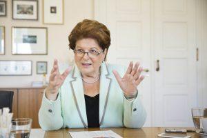 Die Präsidentin des Bayerischen Landtags, Barbara Stamm, will den gesellschaftlichen Zusammenhalt stärken. (Foto: Bayernkurier/Nikky Maier)