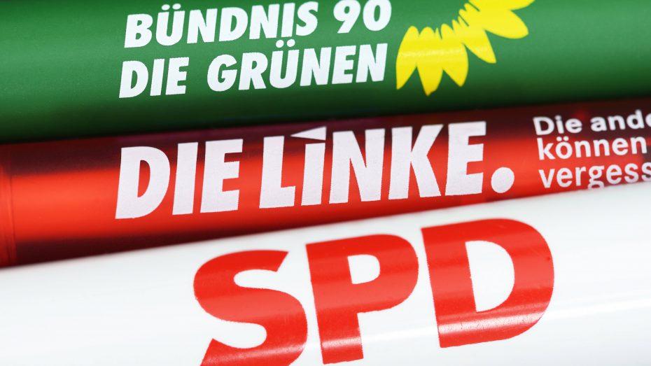 Ein mögliches rot-rot-grünes Bündnis im Bund zu verhindern, ist eines der Hauptziele der CSU. (Foto: Imago/Christian Ohde)