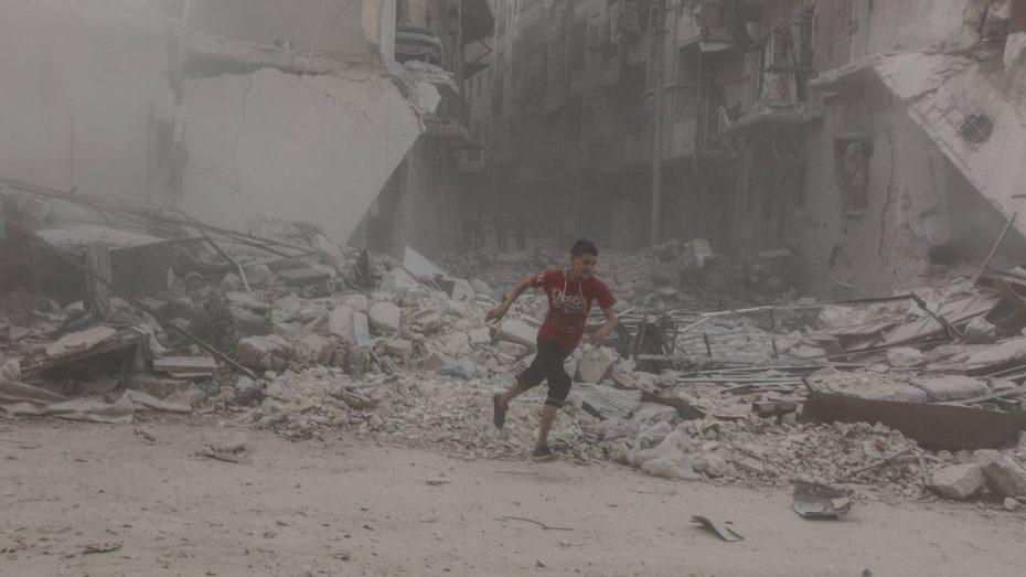 Umkämpftes Aleppo: Leidtragende sind die Zivilisten. (Bild: Imago/Zuma Press)