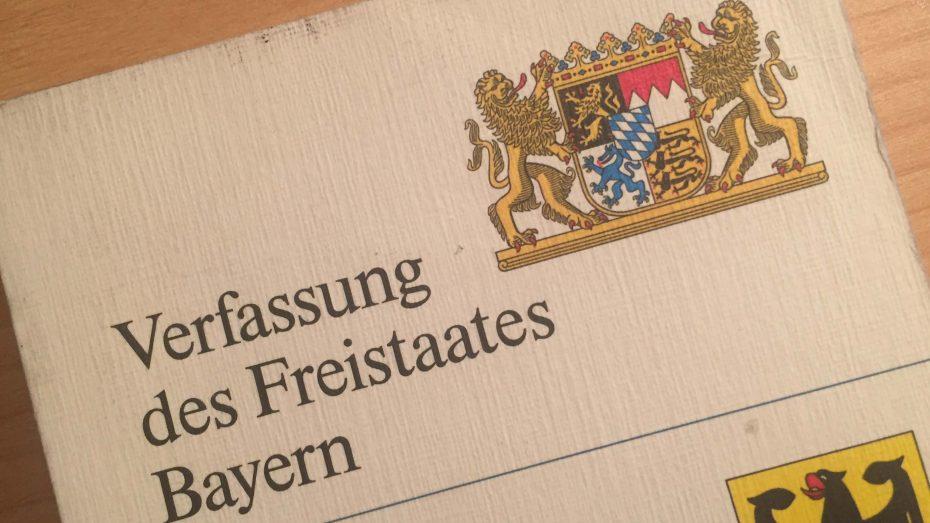 Das 70. Jubiläum der Bayerischen Verfassung wurde mit einem Festakt des Freistaats gewürdigt. (Foto: Wolfram Göll)